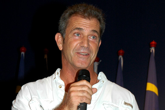 Mel Gibson. Mel Gibson is reportedly