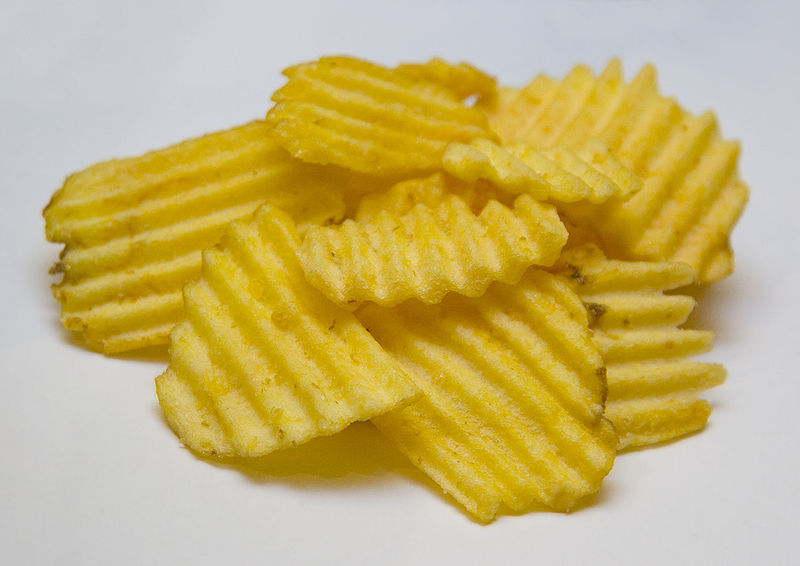 Weight gain? Blame your extra crunchy potato chips