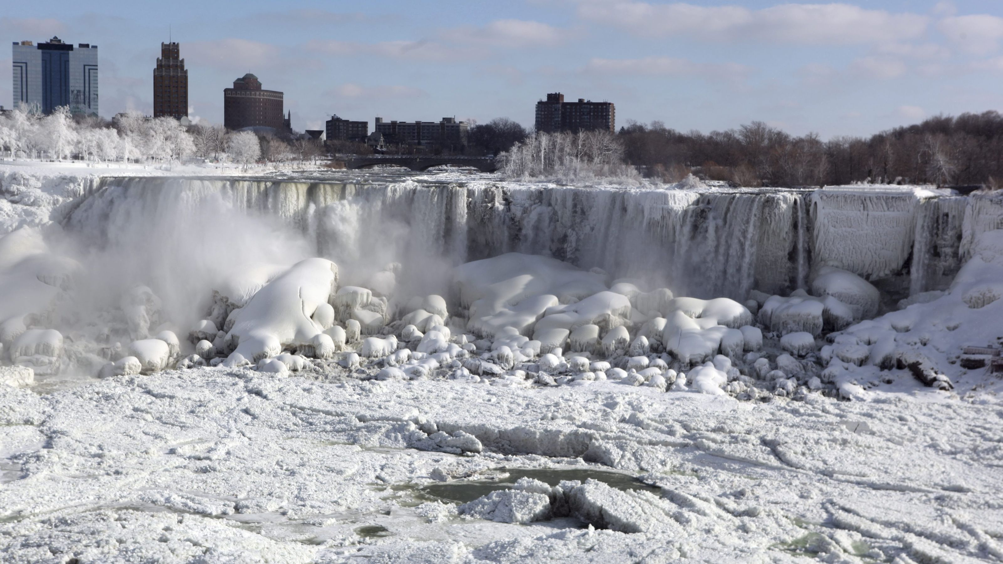 Related Keywords & Suggestions for niagara falls frozen 2015