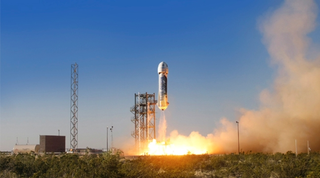 New Shepard Of Blue Origin Successfully Lands A Reusable Rocket
