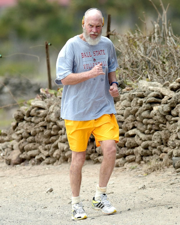 David Letterman Appears Happy With Retirement