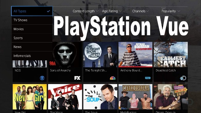 PlayStation Vue Price Reduced By $10