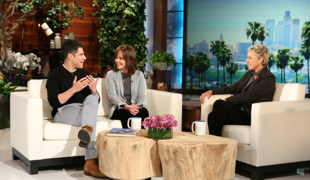 Sally Field, Max Greenfield Make Out On Ellen DeGeneres Show