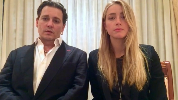 Video Apology Issued By Johnny Depp And Amber Heard