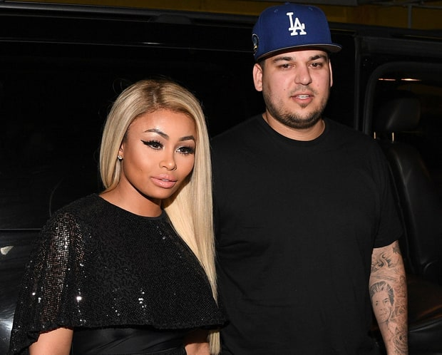 Rob Kardashian and Blac Chyna Enjoying Themselves Following Their Engagement