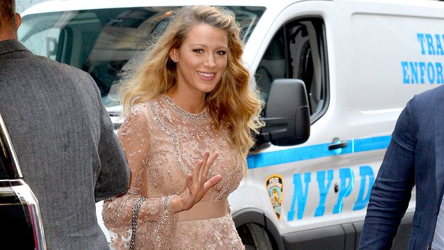 Blake Lively Impresses With A Notable Maternity Dress Ensemble