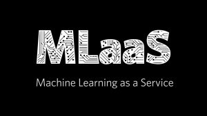 Machine Learning as a Service (MLaaS)